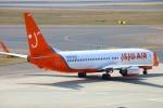 Kuuさんが、中部国際空港で撮影したチェジュ航空 737-8Q8の航空フォト(飛行機 写真・画像)