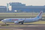 安芸あすかさんが、アムステルダム・スキポール国際空港で撮影したコレンドン・ダッチ・エアラインズ 737-8K2の航空フォト(写真)
