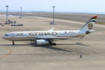 Kuuさんが、中部国際空港で撮影したエティハド航空 A330-243の航空フォト(飛行機 写真・画像)
