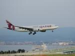 きゅうさんが、関西国際空港で撮影したカタール航空 A330-202の航空フォト(写真)