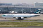 コバトンさんが、羽田空港で撮影したキャセイパシフィック航空 747-467の航空フォト(飛行機 写真・画像)