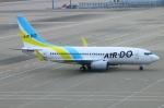 Kuuさんが、中部国際空港で撮影したAIR DO 737-781の航空フォト(飛行機 写真・画像)