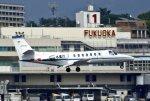 あしゅーさんが、福岡空港で撮影した中日本航空 560 Citation Vの航空フォト(飛行機 写真・画像)