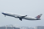 あしゅーさんが、福岡空港で撮影したチャイナエアライン A340-313Xの航空フォト(飛行機 写真・画像)