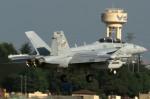 take_2014さんが、横田基地で撮影したアメリカ海軍 F/A-18の航空フォト(写真)