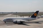 matsuさんが、フランクフルト国際空港で撮影したルフトハンザドイツ航空 A380-841の航空フォト(写真)