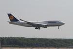 matsuさんが、フランクフルト国際空港で撮影したルフトハンザドイツ航空 747-430の航空フォト(写真)
