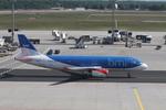 matsuさんが、フランクフルト国際空港で撮影したbmi A320-232の航空フォト(写真)