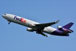 だいせんさんが、ロンドン・スタンステッド空港で撮影したフェデックス・エクスプレス MD-11Fの航空フォト(写真)