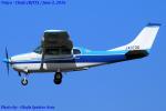 Chofu Spotter Ariaさんが、調布飛行場で撮影した川崎航空 TU206F Turbo Stationairの航空フォト(写真)