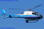 Chofu Spotter Ariaさんが、東京ヘリポートで撮影した日本法人所有 EC130B4の航空フォト(飛行機 写真・画像)