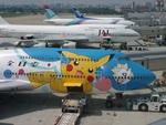 肉食獣さんが、福岡空港で撮影した全日空 747-481(D)の航空フォト(写真)
