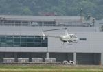 サボリーマンさんが、松山空港で撮影した日本個人所有 R44 Clipperの航空フォト(飛行機 写真・画像)