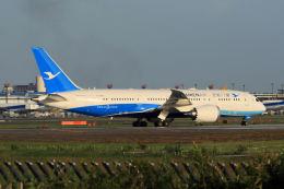 夏奈さんが、成田国際空港で撮影した厦門航空 787-8 Dreamlinerの航空フォト(写真)