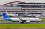 Dojalanaさんが、羽田空港で撮影したガルーダ・インドネシア航空 A330-343Eの航空フォト(飛行機 写真・画像)