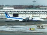 ANA744Foreverさんが、新千歳空港で撮影したANAウイングス DHC-8-402Q Dash 8の航空フォト(飛行機 写真・画像)