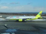 ANA744Foreverさんが、新千歳空港で撮影したジンエアー 777-2B5/ERの航空フォト(飛行機 写真・画像)