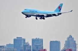 Dojalanaさんが、羽田空港で撮影した大韓航空 747-4B5の航空フォト(飛行機 写真・画像)