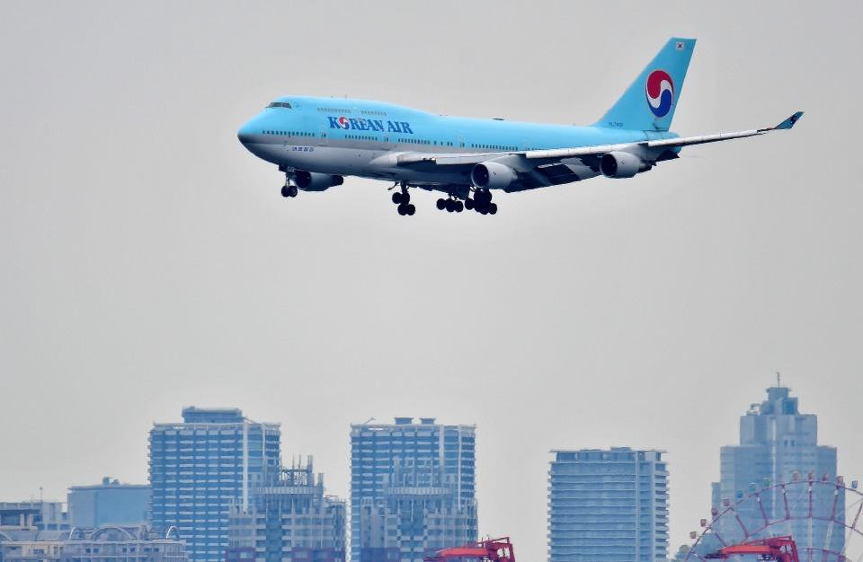 Dojalanaさんの大韓航空 Boeing 747-400 (HL7402) 航空フォト