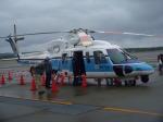 はやてぃさんが、釧路空港で撮影した海上保安庁 S-76Cの航空フォト(写真)