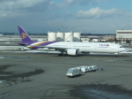 ANA744Foreverさんが、新千歳空港で撮影したタイ国際航空 777-3D7の航空フォト(写真)