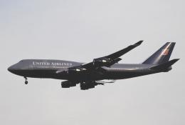 チャーリーマイクさんが、成田国際空港で撮影したユナイテッド航空 747-451の航空フォト(飛行機 写真・画像)