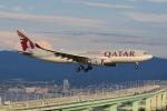 はる0904さんが、関西国際空港で撮影したカタール航空 A330-202の航空フォト(写真)