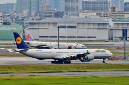 Dojalanaさんが、羽田空港で撮影したルフトハンザドイツ航空 A340-642の航空フォト(飛行機 写真・画像)