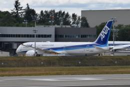 romyさんが、ペインフィールド空港で撮影した全日空 787-9の航空フォト(飛行機 写真・画像)