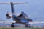 サボリーマンさんが、高知空港で撮影した海上保安庁 G-V Gulfstream Vの航空フォト(飛行機 写真・画像)