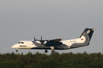 ATOMさんが、新千歳空港で撮影したオーロラ DHC-8-315Q Dash 8の航空フォト(写真)