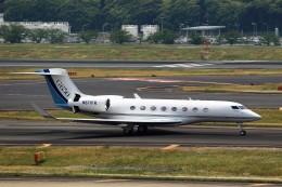 T.Sazenさんが、成田国際空港で撮影したウィルミントン・トラスト・カンパニー G650 (G-VI)の航空フォト(飛行機 写真・画像)
