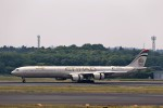 T.Sazenさんが、成田国際空港で撮影したエティハド航空 A340-642Xの航空フォト(飛行機 写真・画像)