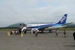 mojioさんが、利尻空港で撮影したANAウイングス 737-5L9の航空フォト(飛行機 写真・画像)