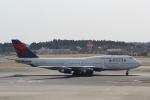 ANA744Foreverさんが、成田国際空港で撮影したデルタ航空 747-451の航空フォト(写真)