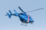 パンダさんが、茨城空港で撮影した茨城県警察 BK117C-1の航空フォト(写真)
