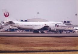 はなおさんが、高松空港で撮影した日本航空 747-446の航空フォト(飛行機 写真・画像)