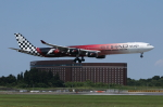 mogusaenさんが、成田国際空港で撮影したエティハド航空 A340-642Xの航空フォト(飛行機 写真・画像)