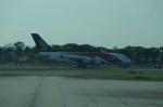 BIGFORCEさんが、シンガポール・チャンギ国際空港で撮影したシンガポール航空 A380-841の航空フォト(写真)