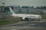 BIGFORCEさんが、シンガポール・チャンギ国際空港で撮影したユーロアトランティック・エアウェイズ 767-36N/ERの航空フォト(写真)