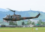 じーく。さんが、旭川駐屯地で撮影した陸上自衛隊 UH-1Jの航空フォト(写真)
