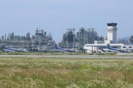 テクストTPSさんが、松山空港で撮影したANAウイングス DHC-8-402Q Dash 8の航空フォト(写真)