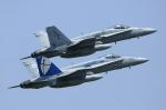 グンマー帝国の覇者さんが、厚木飛行場で撮影したアメリカ海兵隊 F/A-18C Hornetの航空フォト(写真)