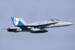Flankerさんが、厚木飛行場で撮影したアメリカ海兵隊 F/A-18C Hornetの航空フォト(写真)