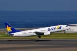 ピリンダさんが、中部国際空港で撮影したスカイマーク 737-8HXの航空フォト(写真)