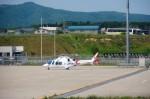 T.Sazenさんが、函館空港で撮影した鹿児島国際航空 AW109SPの航空フォト(飛行機 写真・画像)