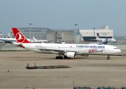 voyagerさんが、成田国際空港で撮影したターキッシュ・エアラインズ A330-303の航空フォト(飛行機 写真・画像)