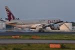 23Skylineさんが、成田国際空港で撮影したカタール航空 777-2DZ/LRの航空フォト(写真)