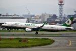 あしゅーさんが、福岡空港で撮影したエバー航空 A321-211の航空フォト(写真)