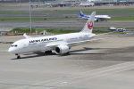 ANA744Foreverさんが、羽田空港で撮影した日本航空 787-8 Dreamlinerの航空フォト(写真)